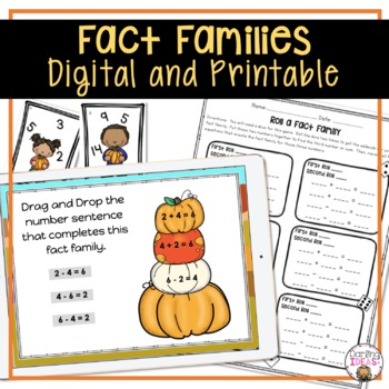 CCSS 2 WEEK COMPLETE FACT FAMILIES GREATER AND LESS THAN UNIT FALL FIRST GRADE