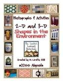 CCSS 2D & 3D Shapes in the Environment {Photographs & Activities}