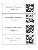 CCSS 2NBT5 2NBT6 2NBT7 Addition Review Task Cards w/ QR Codes