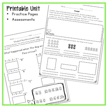 repeated addition arrays worksheets activities and lesson plans. Black Bedroom Furniture Sets. Home Design Ideas