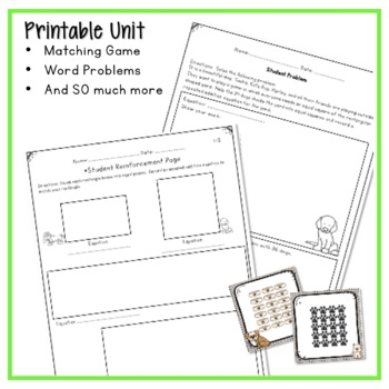 REPEATED ADDITION ARRAYS WORKSHEETS, ACTIVITIES, AND LESSON PLANS
