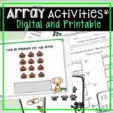 Repeated Addition and Arrays Worksheets | Printable Arrays
