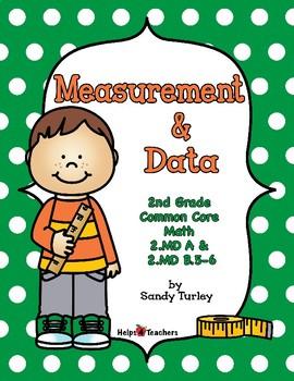 CCSS 2nd Grade-MD A & B5-6: MEASUREMENT & DATA