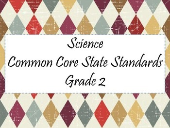 CCSS 2nd Grade Science and Social Studies