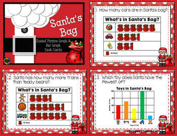 CCSS 3.MD.3 Scaled Picture Graph/Bar Graph Task Cards