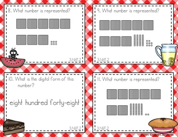 CCSS 3.NBT.2 Addition Mix-and-Match Task Card Sampler