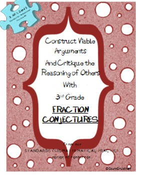 CCSS 3.NF.1 and 3 Fraction Conjectures