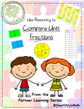CCSS 3.NF.3 Comparing Unit Fractions