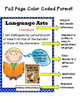 "CCSS 3rd Grade Language Arts Standards ""I Can Statements"""