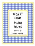 CCSS 3rd Grade Reading Rubrics
