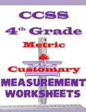 CCSS 4th Grade Measurement Worksheets