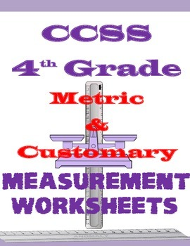 CCSS 4th Grade Measurement Worksheets