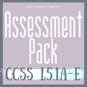 CCSS 5.L.1 Assessment Bundle