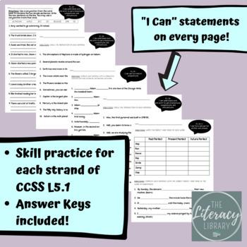 CCSS L.5.1 Assessment Bundle