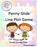 CCSS 5.MD.2 Penny Glide Line Plot