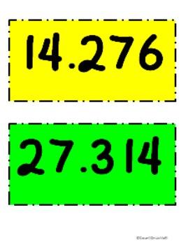CCSS 5.NBT.4 Four Corners- Rounding Decimals