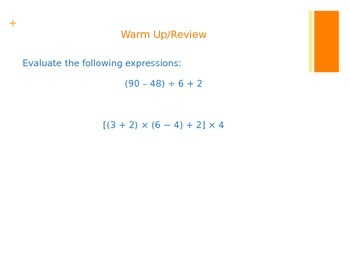 CCSS 5.OA.A.2 Writing and Interpreting Algebraic Expressions