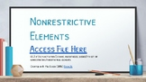 CCSS 6.L.2a Nonrestrictive Elements (Google Drive)