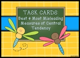 Task Cards: Best and Misleading Measures of Central Tendency