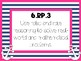 CCSS 6th Grade Standards Posters {Bright Nautical Theme}