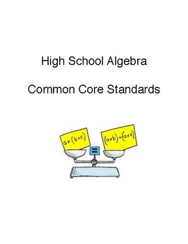 CCSS 8th Grade Math and High School Algebra