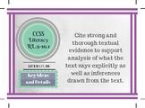 CCSS 9-10 ALL Standards