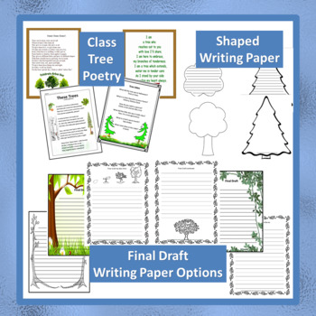 """CCSS """"ARBOR DAY"""" BUNDLE TEXT-BASED WRITING ASSIGNMENTS"""