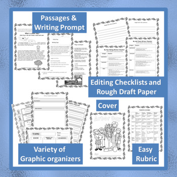 """""""ARBOR DAY"""" BUNDLE TEXT-BASED WRITING ASSIGNMENTS"""