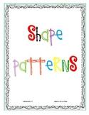 CCSS Algebra & Patterns:  Shape Patterns