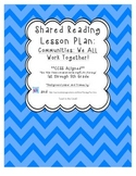"""Our Classroom Community"" Shared Reading Lesson Plan"