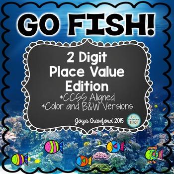 Place Value Game: 2 Digit Go Fish