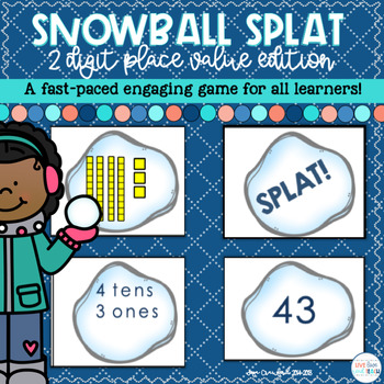 Place Value Game: Snowball SPLAT!