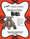 CCSS Aligned 2 Text Main Idea Writing Task