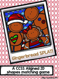 Shapes Game: Gingerbread SPLAT!