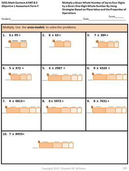 CCSS Aligned Assessment Bank Mathematics Grade 4
