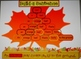 Autumn Build a Sentence with Parts of Speech Writing Activity