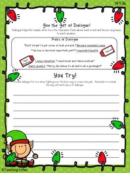CCSS Aligned Christmas Narrative Prompts