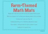 CCSS Aligned Farm-Themed Math Mats
