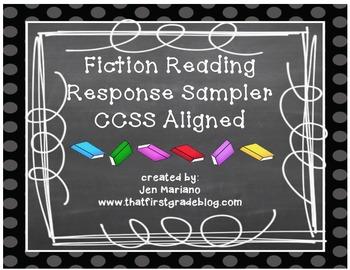 Fiction Reading Response Sampler-CCSS Aligned