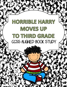 CCSS Aligned Horrible Harry Moves up to Third Grade Book S