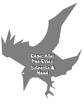 Edgar Allan Poe-Suspense and Mood-NO PREP CCSS Aligned Informative Essay