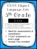 CCSS L.5.5a Assessment Bundle