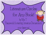 CCSS Aligned Literature Circles~ For Any Book