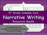 CCSS Aligned Narrative Writing Bundle