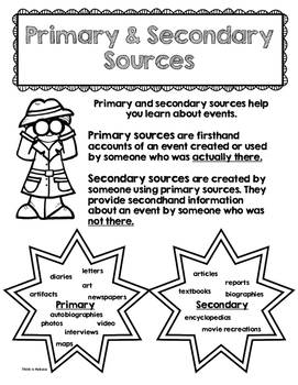 CCSS Aligned Primary and Secondary Sources Pack