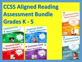 CCSS Aligned Reading Assessment Bank Bundle Grades K-5
