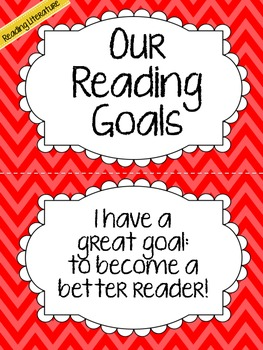CCSS Aligned Reading Goals Clip Chart {Grade 4}