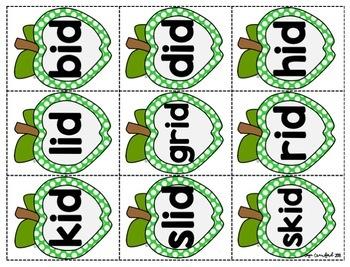 Short Vowels Game: Apple SPLAT!