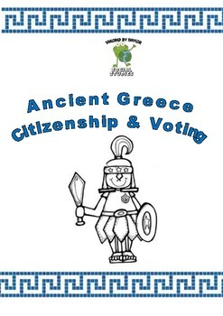 CCSS Aligned: Social Studies Test/Worksheet on Ancient Greece Citizenship