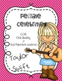 CCSS Aligned: Taylor Swift Close Reading Passage & Text Dependent questions